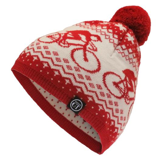 The Hackney GT Bobble hat, perfect for a bit of post-cross race action