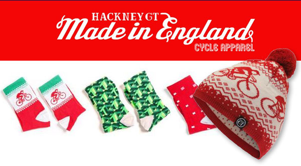 You can't beat a Christmas competition. Hackney GT have  given us a hat and sock combo that should brighten up your Christmas ride