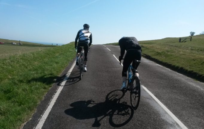 Beachy Head Loop on the Hell of the Sussex Coastal Hills Audax, 2015. Photo courtesy of Gavin Peacock
