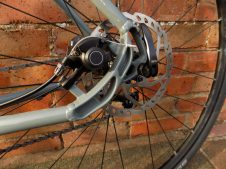 Mechanical disc brakes need a lot of attention to work properly; upgrade to hydraulic if you can