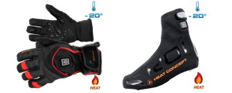The Ekoi Heat Concept gloves and overshoes, could they spell the end to frozen extremities?