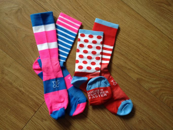 Our This Is Cambridge sock collection