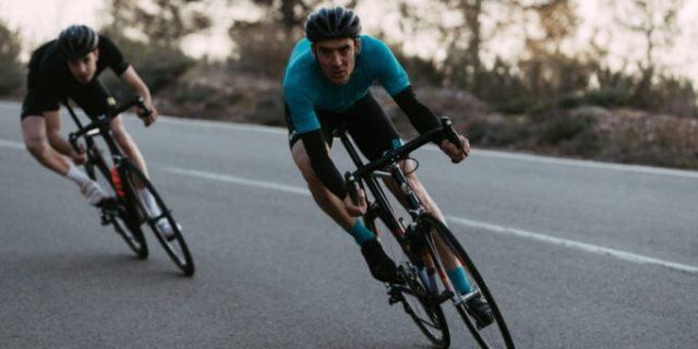 The Rapha Pro Team II jersey and shorts are designed for riding in warm weather