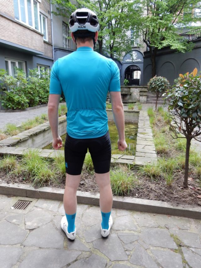 The midweight jersey is well suited to spring riding in Northern Europe