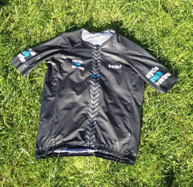 The CycleTechReview jersey by Kalas