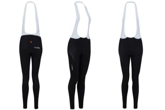 When a girl's gotta go, the dhb Aeron Halterneck Tights have super stretchy straps, allowing for the all important pee stop