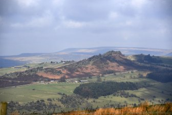 The Roches, classic gritstone country, perfect for riding, walking or climbing