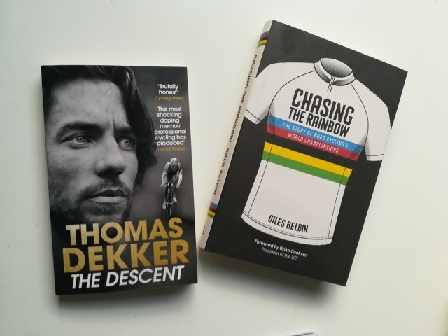 Both books make an entertaining change from looking at your Strava stats
