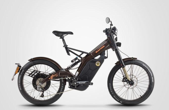 At the other end of the scale is the Bultaco Albero Moto-Bike