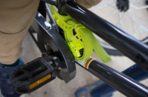 The Otto lock is small enough to fit on a child's bike