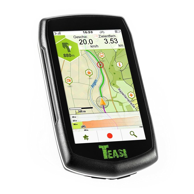 teasi one 3 extend  Teasi One GPS Preview - CycleTechReviewCycleTechReview