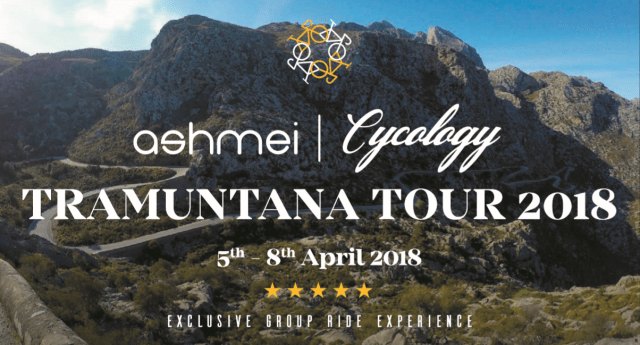 Cycology and ashmei are teaming up to provide the ultimate luxury Mallorcan cycling  holiday