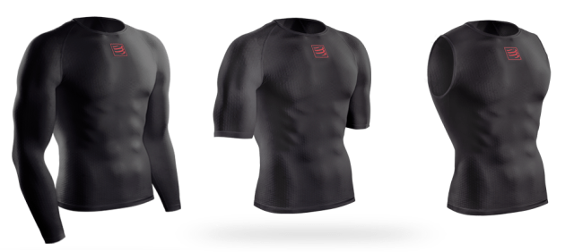 The 3D Thermo Ultralight Shirt comes in three lengths and two colours