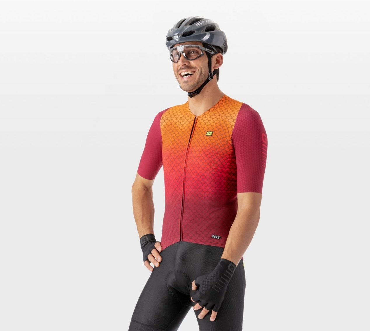 The Alé VELOCITY G+ Jersey; a cool choice for hot rides