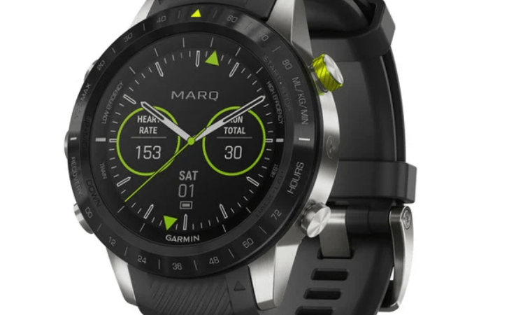 Garmin Marq Athlete, a modern tool watch.