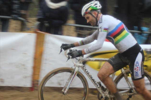 Niels Albert in action at Koksijde