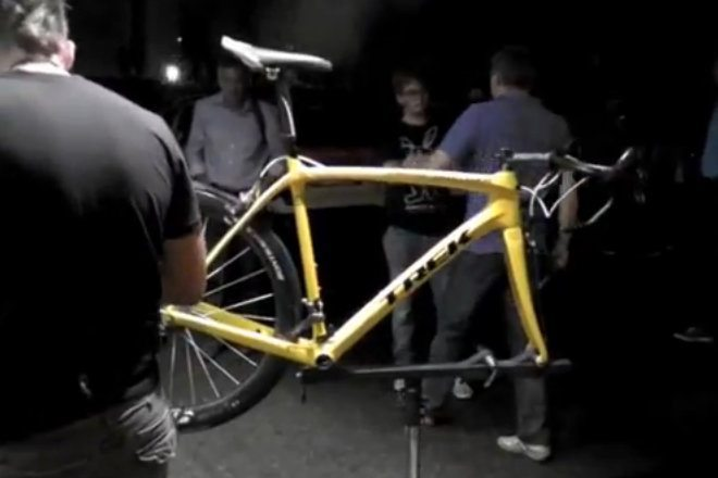 Video: Cancellara chooses Yellow Domane for TDF