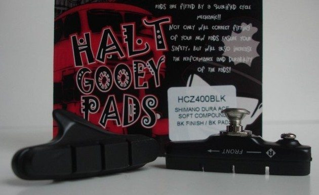 Halt Gooey Brake Pads