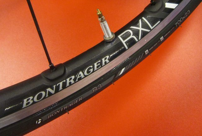 Bontrager tubeless wheels
