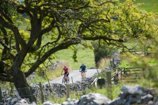 The climb out of Malham