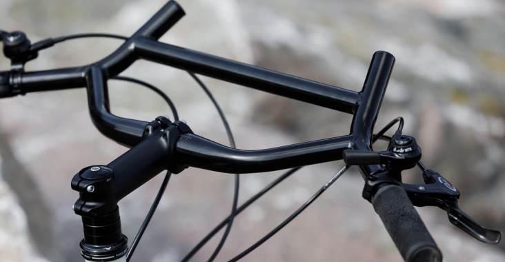 25.4mm Aluminum Alloy Handlebar Straight Bikes MTB Bicycle Riser Flat Handle Bar