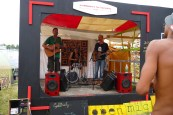 One of the bands that performed during the 3 days we were there