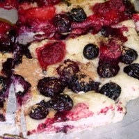 Kicking up Focaccia con frutta (Fruit Focaccia):  My Way with Ginger Root and Spices