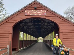 Covered Bridge by Holdingford, my hometown.