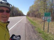 I cycled all the way to Itaska County! :-)