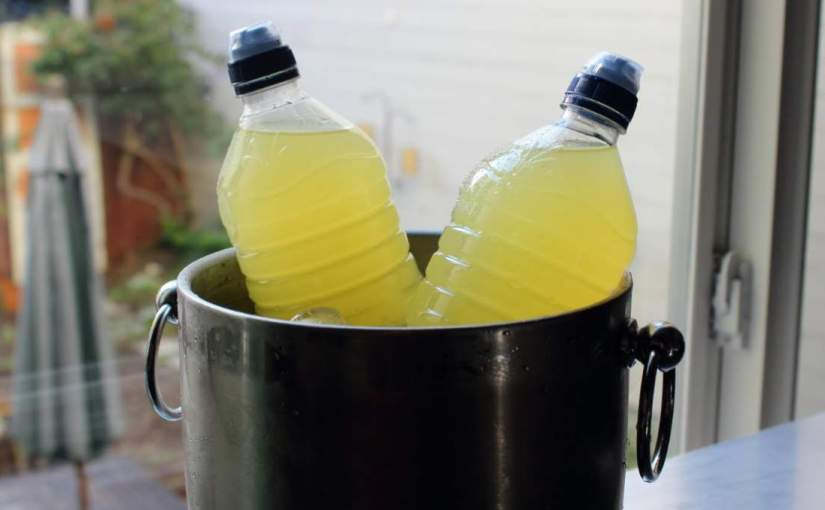 Homemade isotonic drink