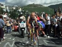 Marco Pantani on Alpe d'Huez, Tour de France 1997