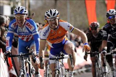 Óscar Freire wins Tour of Andalusia 2010 stage 2