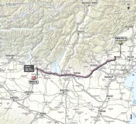 Giro d'Italia 2013 stage 21 map