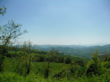 Cycling Tour in Italy, 2nd day, the view