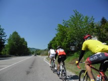 Cycling Tour in Italy, 2nd day, a local cyclist