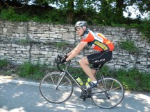 Cycling Tour in Italy, 3rd day, me