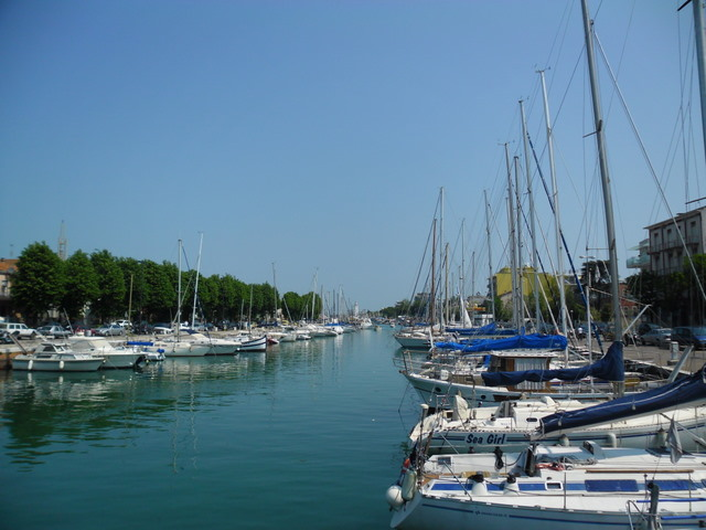 Cycling Tour in Italy, 4th day, Canale di Rimini