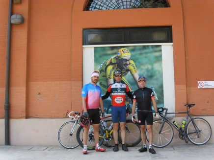 Cycling Tour in Italy, 4th day, Spazio Pantani