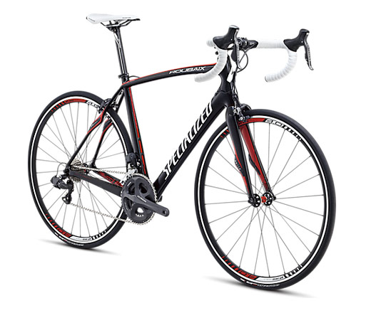 Specialized Roubaix 2013 SL4 Expert Ul2 Compact Carbon/White/Red