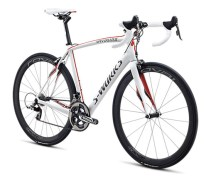 Specialized S-Works Roubaix 2013 SL4 SRAM Red Compact White/Charcoal/Red