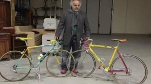 Marco Pantani's bikes