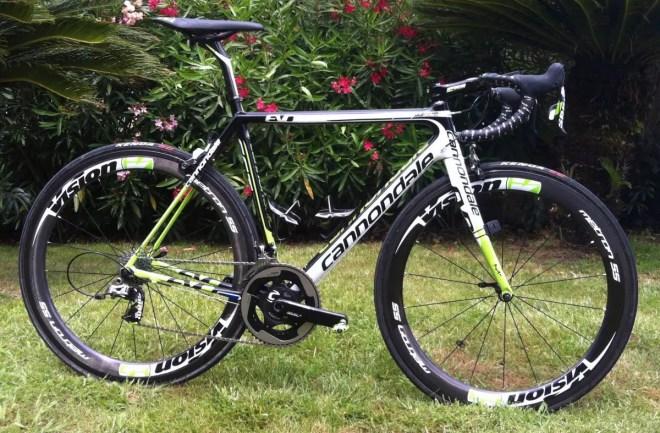 Cannondale SuperSix Evo 2014, Tour de France 100th special edition