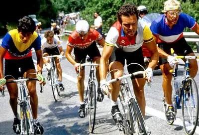 Bernard Hinault, La Vie Claire, 1984 Tour de France