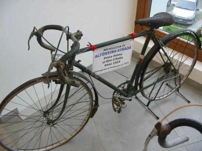 Alfonsina Strada's bike, Giro d'Italia 1924