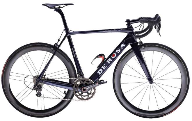 De Rosa 60th anniversary Black Label series: Carbon