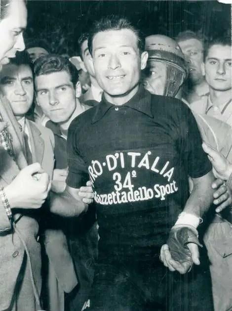Giovanni Pinarello in Maglia Nera, Giro d'Italia 1951
