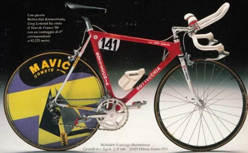 Greg LeMond's 1989 Tour de France winner Bottecchia