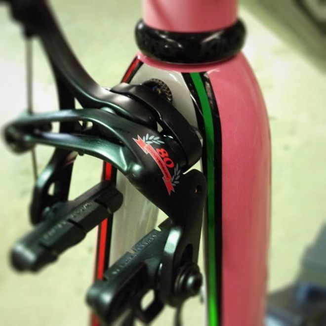 Baum Corretto with Campagnolo 80th Anniversary Groupset-front brake