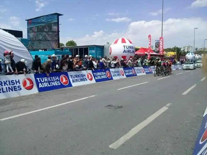 Tour of Turkey 2014 stage 8, Istanbul-the break