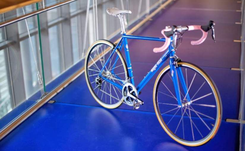"""Maglia Rosa"" by Hampsten Cycles"